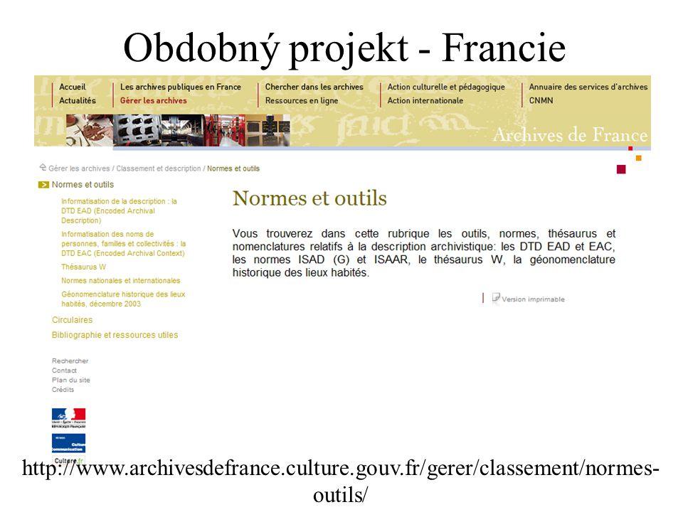 Obdobný projekt - Francie