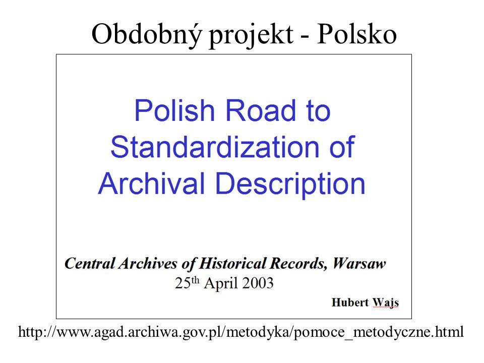 Obdobný projekt - Polsko