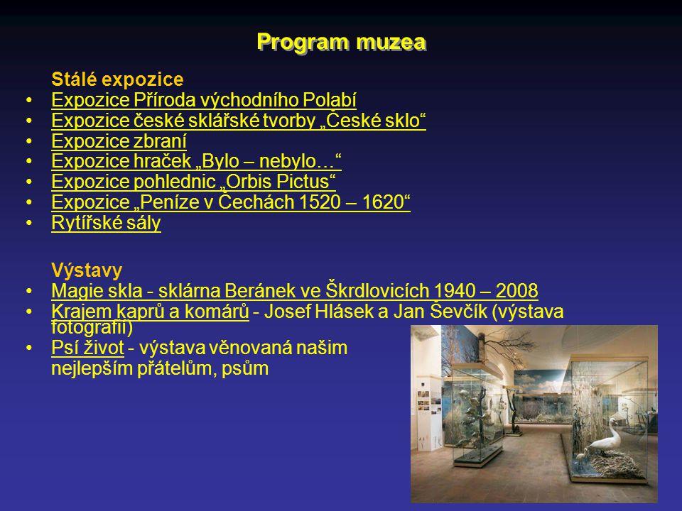 Program muzea Stálé expozice Expozice Příroda východního Polabí