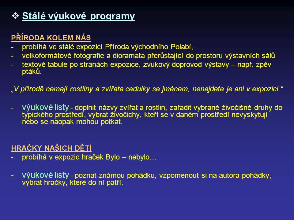 Stálé výukové programy