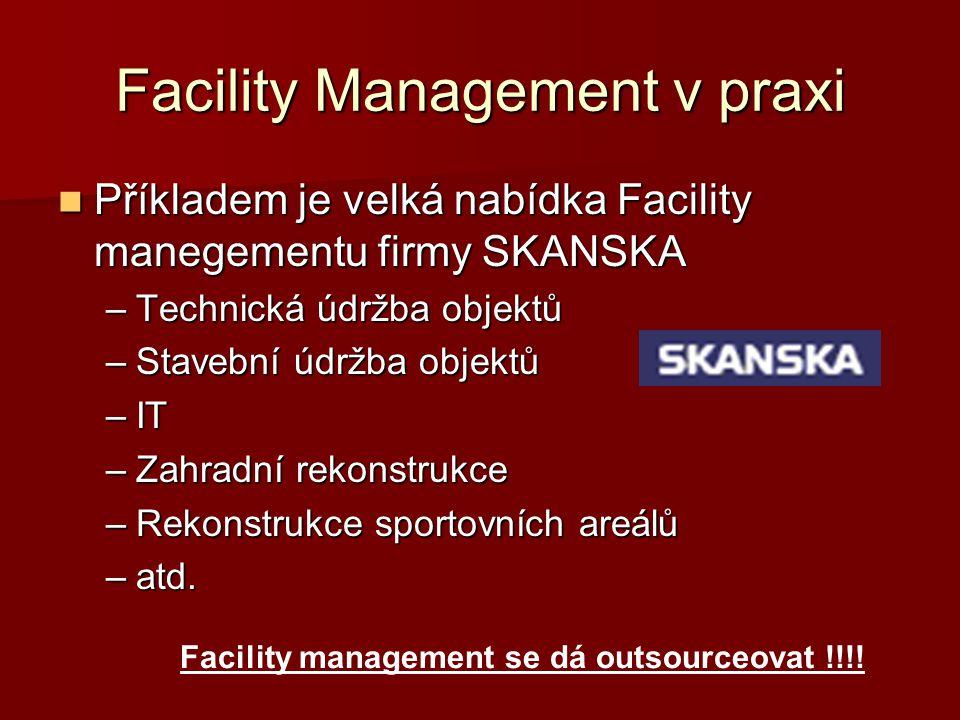 Facility Management v praxi