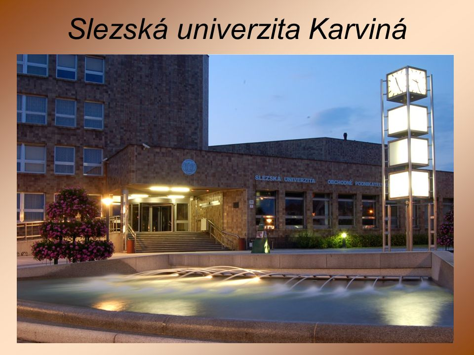 Slezská univerzita Karviná