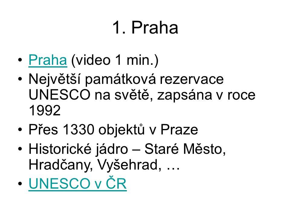 1. Praha Praha (video 1 min.)