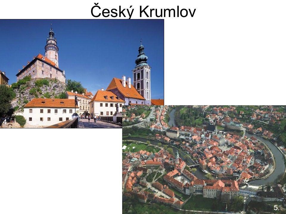 Český Krumlov 5. 4. 4. 5.