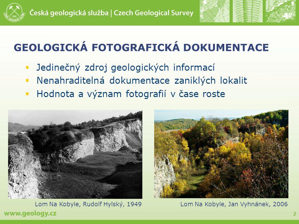GEOLOGICKÁ FOTOGRAFICKÁ DOKUMENTACE