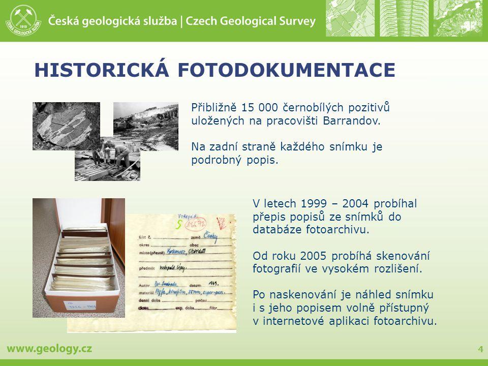 HISTORICKÁ FOTODOKUMENTACE