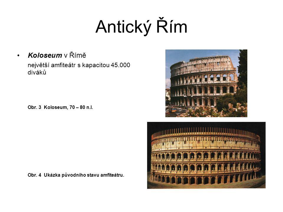 Antický Řím Koloseum v Římě