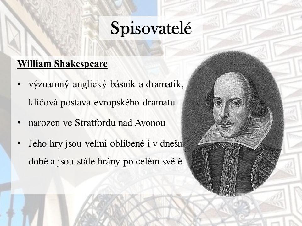 Spisovatelé William Shakespeare