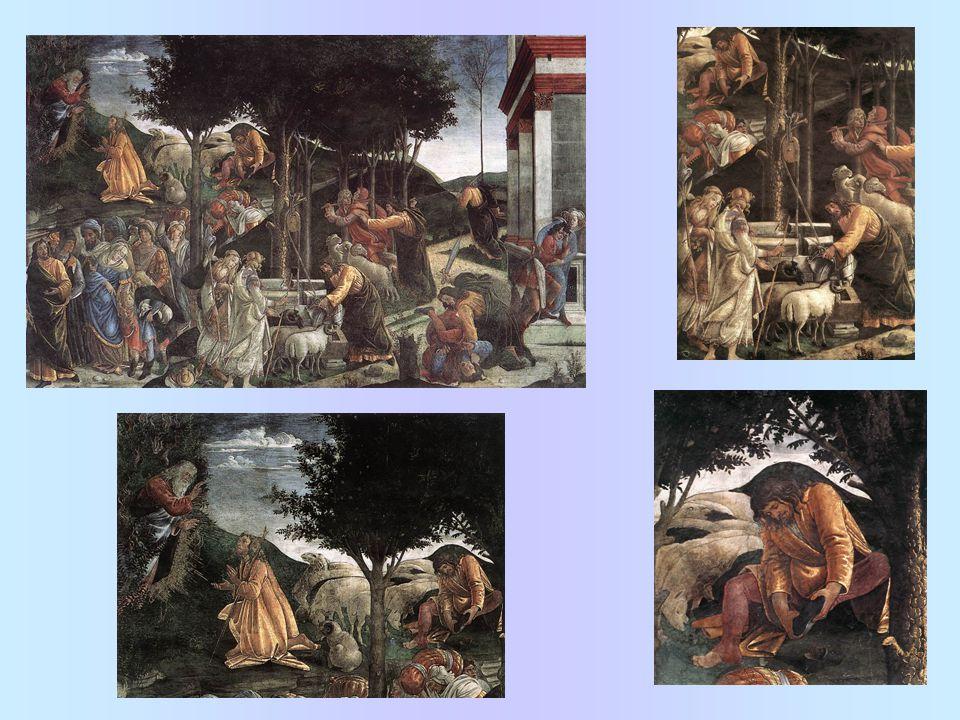 Fresky v sixtinské kapli: Scény ze života Mojžíšova