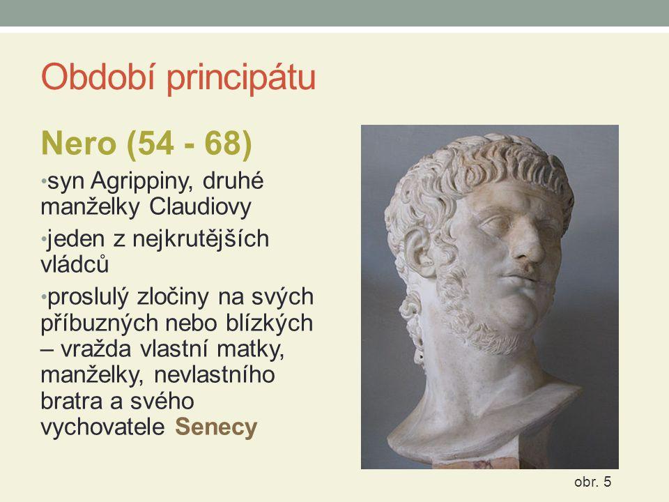 Období principátu Nero (54 - 68)