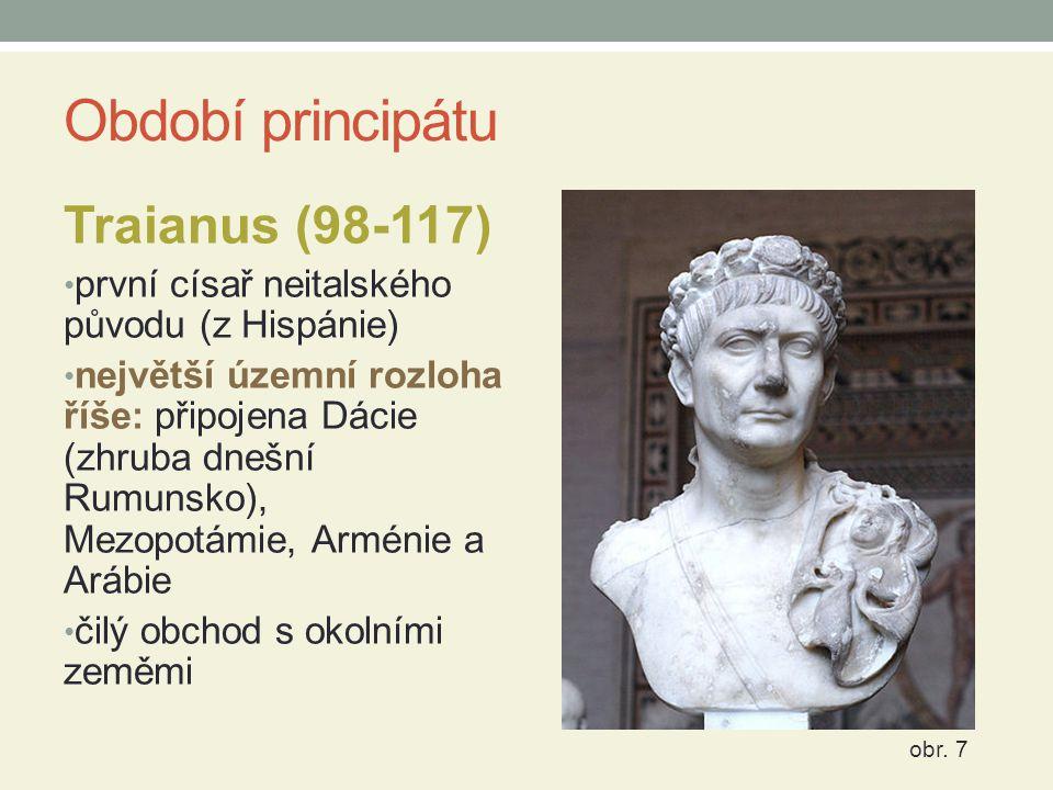 Období principátu Traianus (98-117)