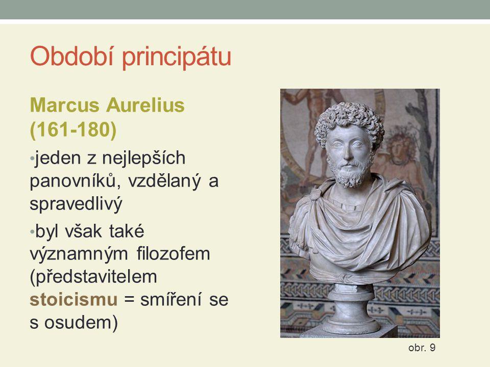 Období principátu Marcus Aurelius (161-180)