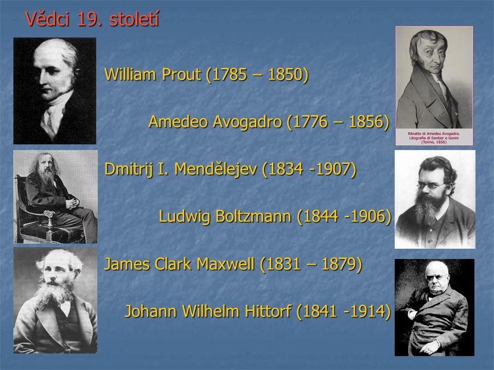 Vědci 19. století William Prout (1785 – 1850)