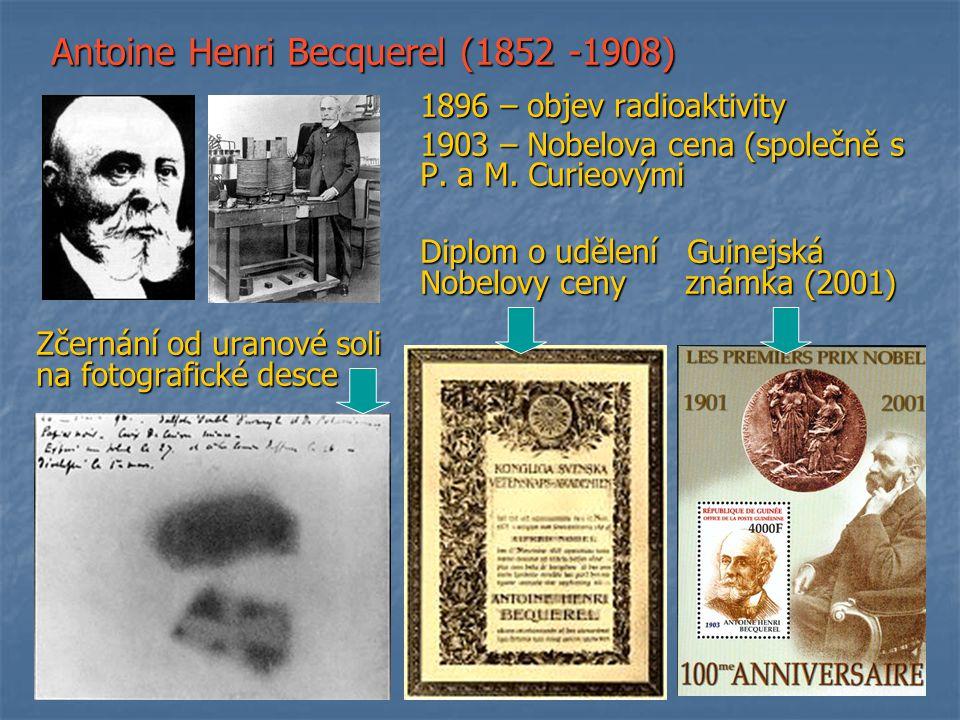 Antoine Henri Becquerel (1852 -1908)