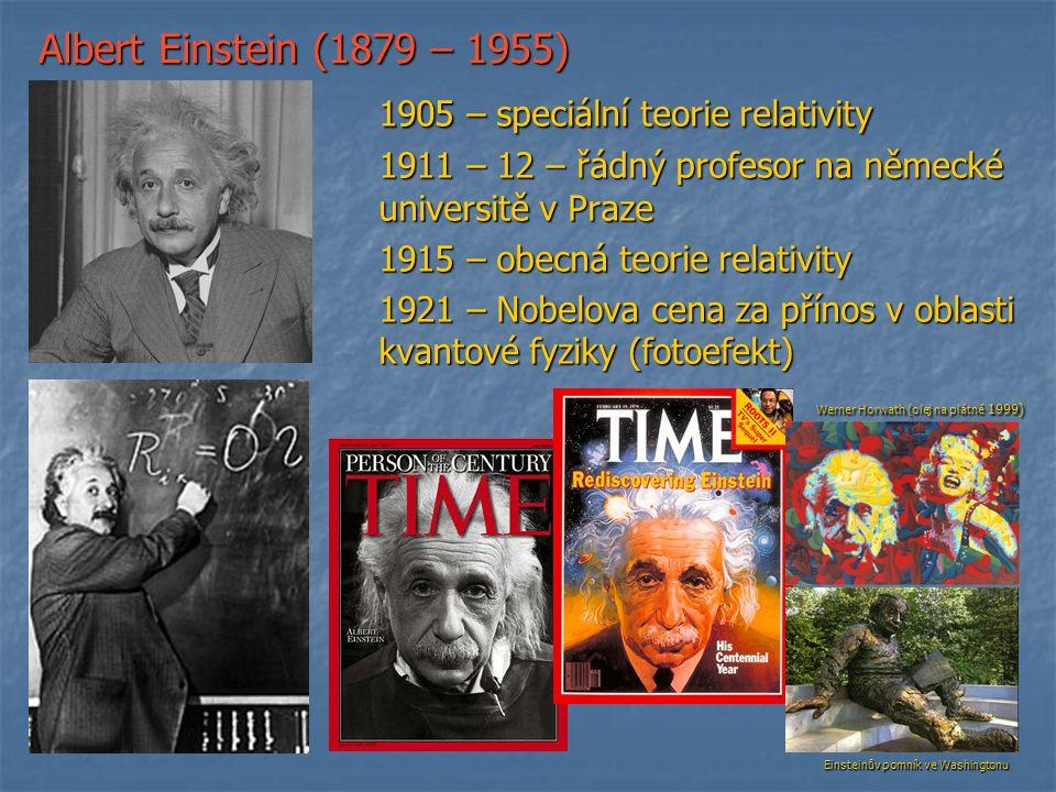 1905 – speciální teorie relativity