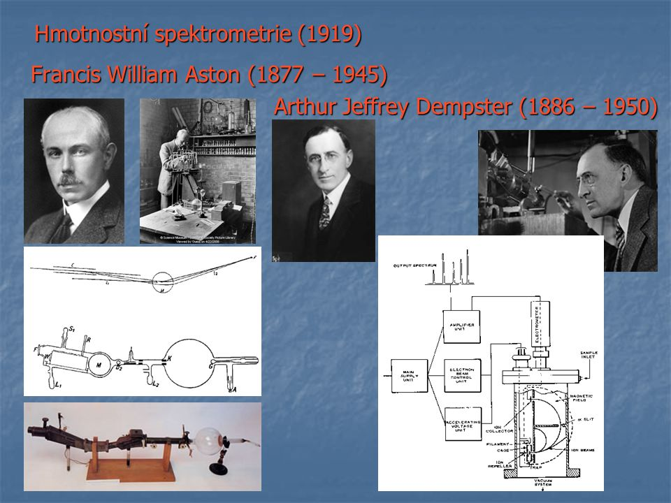 Hmotnostní spektrometrie (1919)
