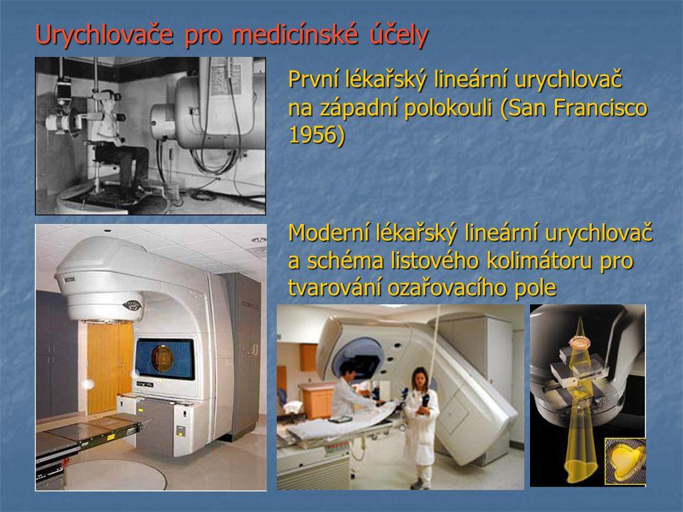 Urychlovače pro medicínské účely