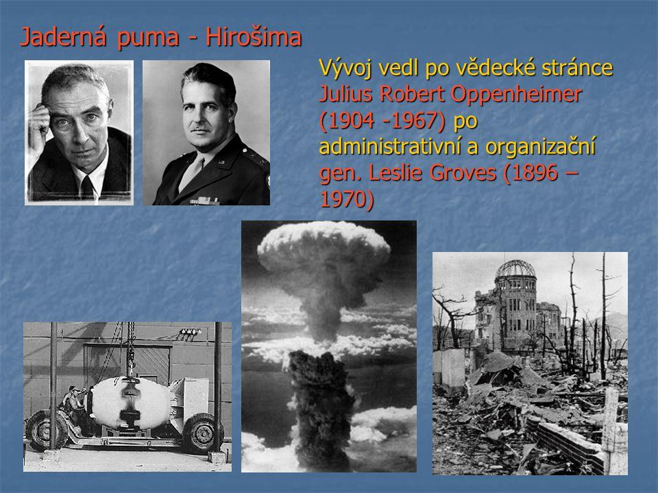 Jaderná puma - Hirošima