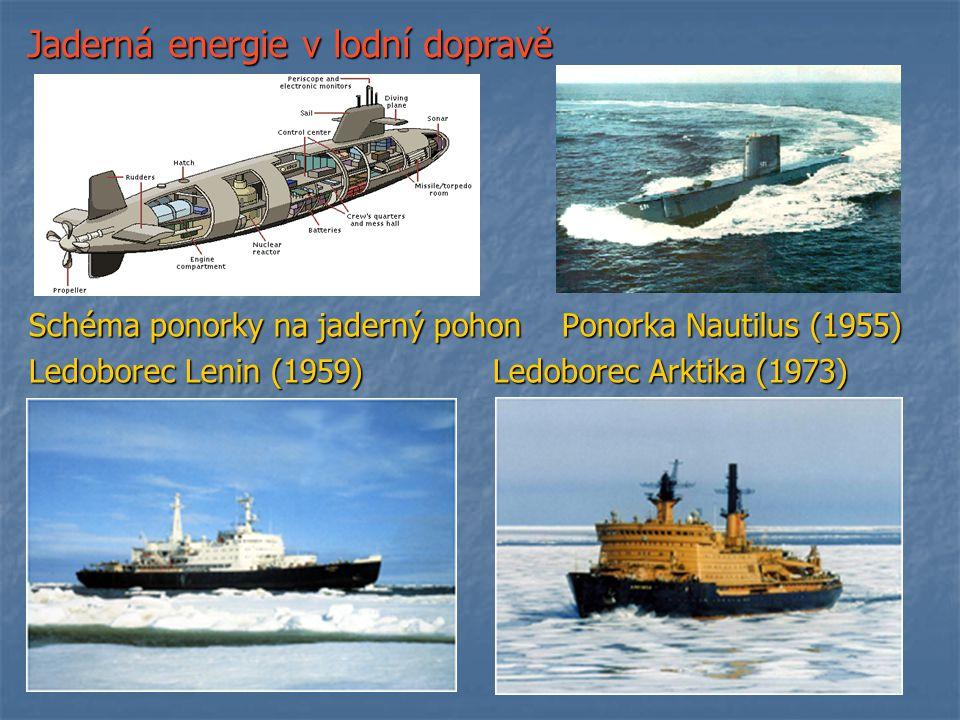 Jaderná energie v lodní dopravě