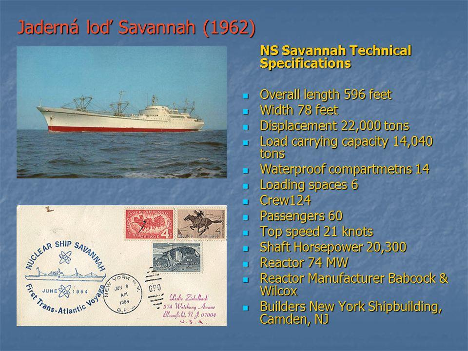 Jaderná loď Savannah (1962)