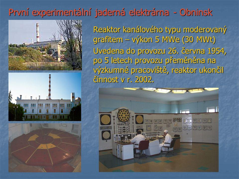 První experimentální jaderná elektrárna - Obninsk