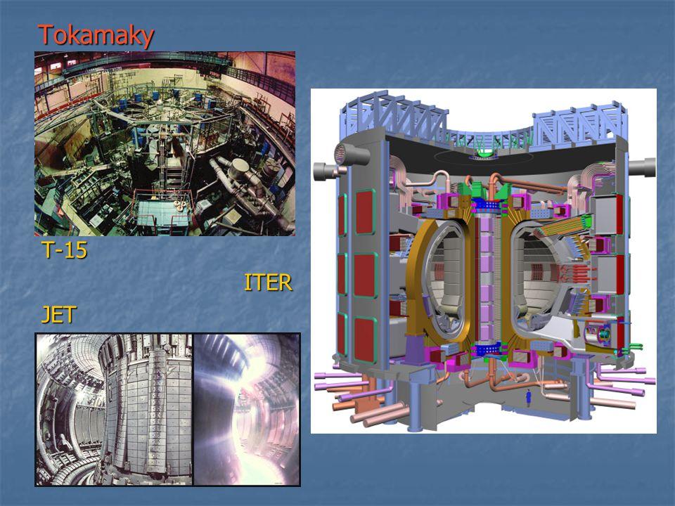 Tokamaky T-15 ITER JET