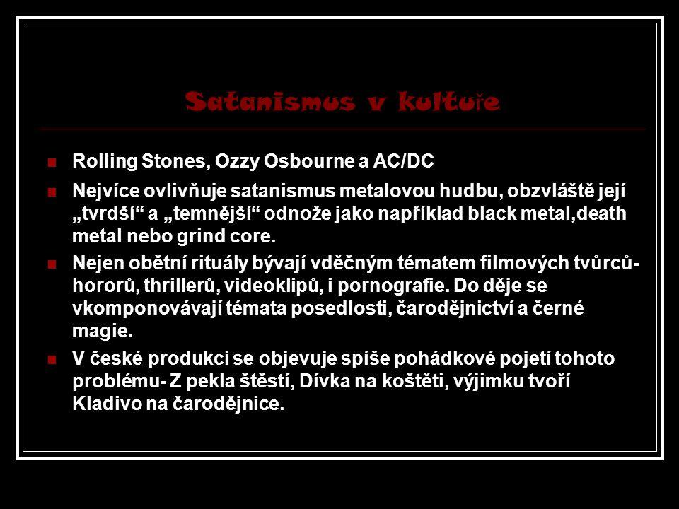 Satanismus v kultuře Rolling Stones, Ozzy Osbourne a AC/DC