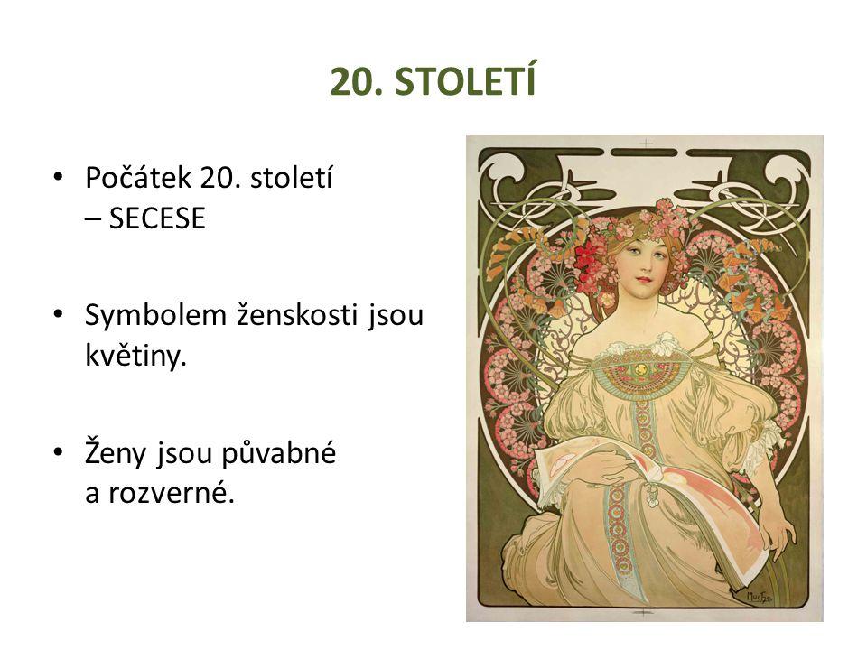 20. Století Počátek 20. století – SECESE
