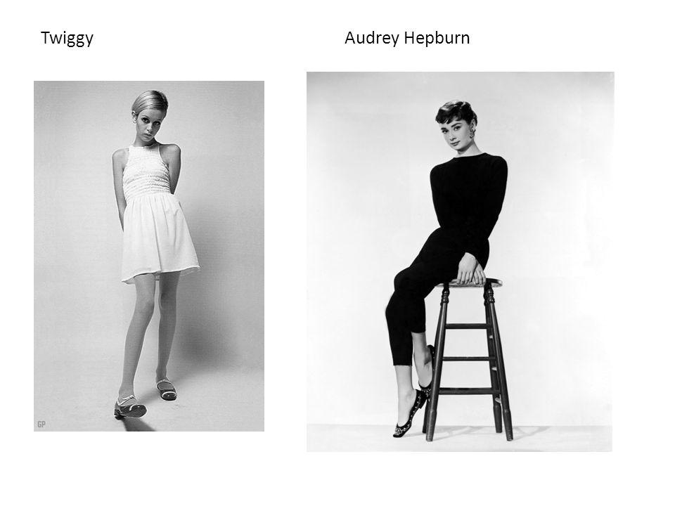 Twiggy Audrey Hepburn