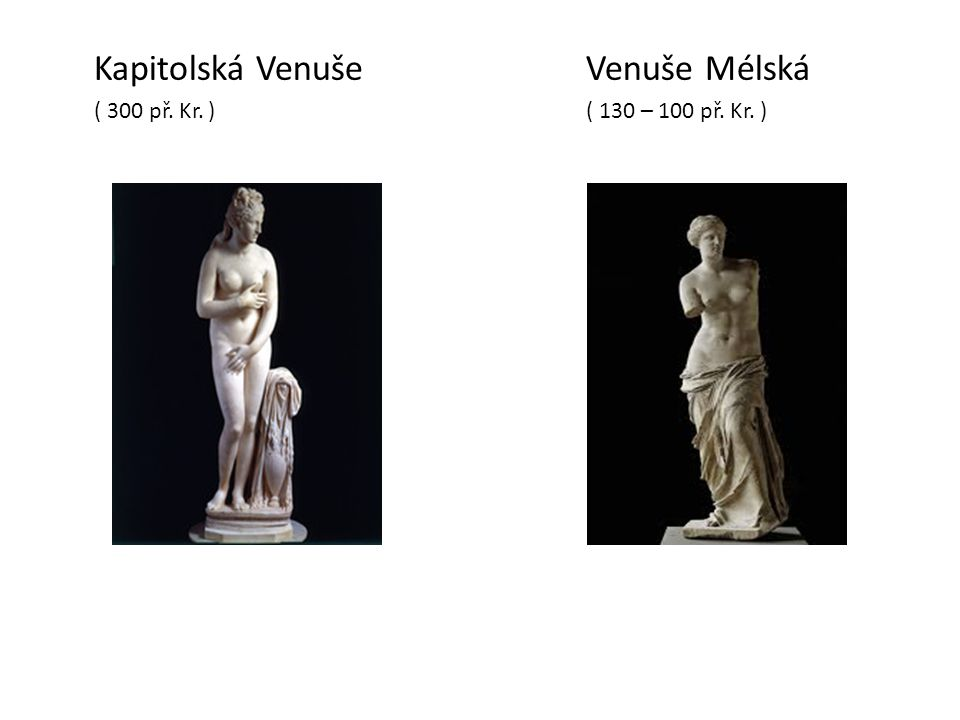 Kapitolská Venuše Venuše Mélská