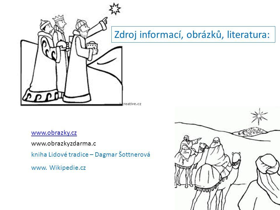 Zdroj informací, obrázků, literatura:
