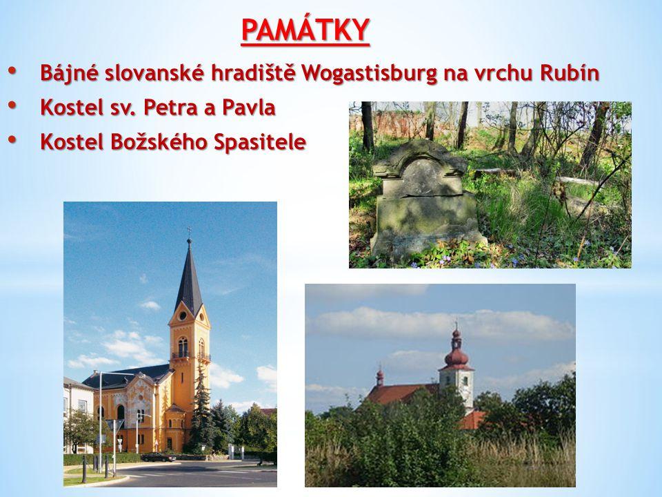 PAMÁTKY Bájné slovanské hradiště Wogastisburg na vrchu Rubín