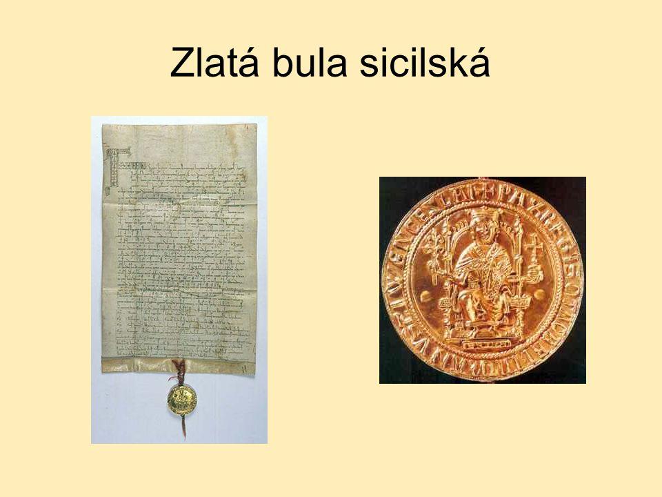 Zlatá bula sicilská