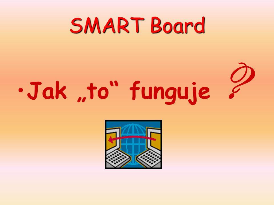 """SMART Board Jak """"to funguje"""