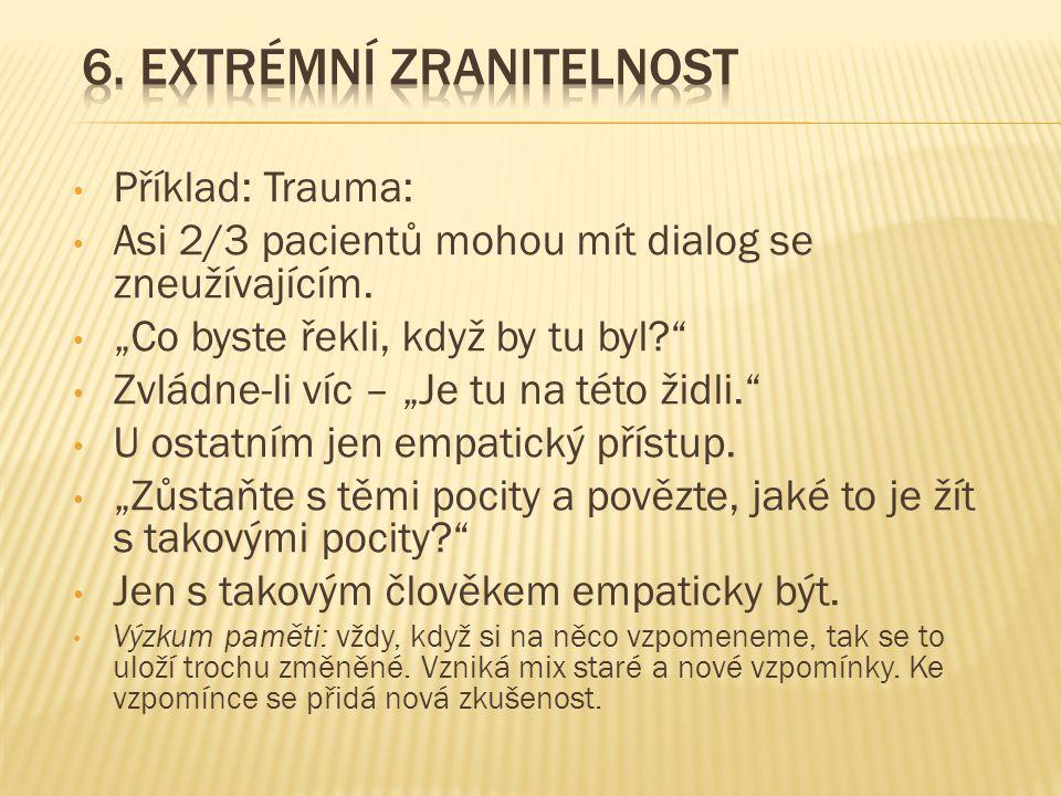 6. Extrémní zranitelnost