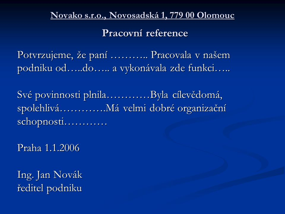 Novako s.r.o., Novosadská 1, 779 00 Olomouc