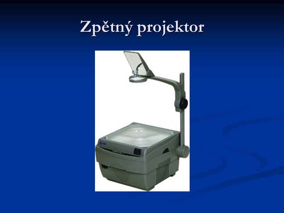 Zpětný projektor