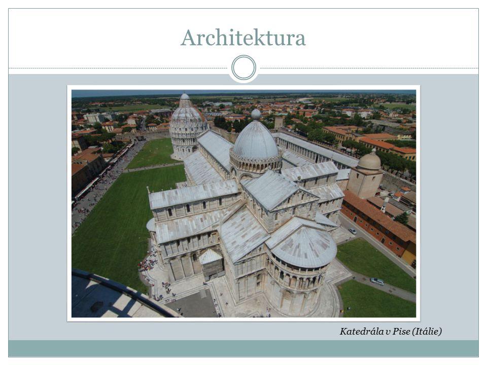 Architektura Katedrála v Pise (Itálie)