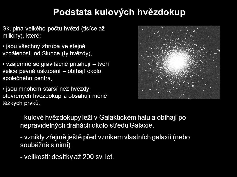 Podstata kulových hvězdokup