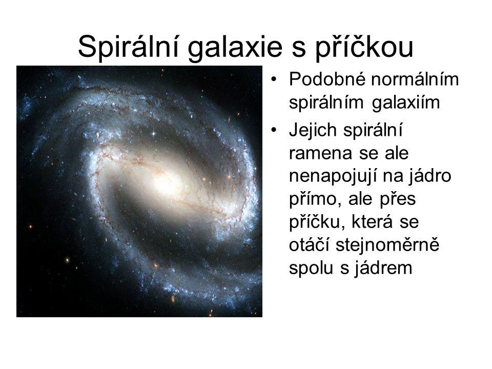 Spirální galaxie s příčkou