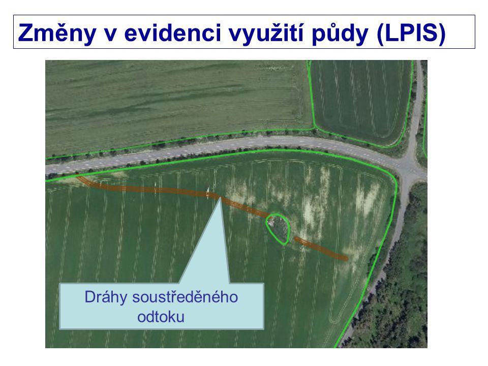 Změny v evidenci využití půdy (LPIS)