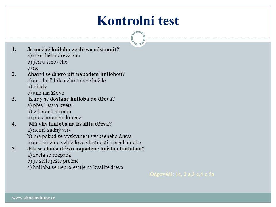 Kontrolní test