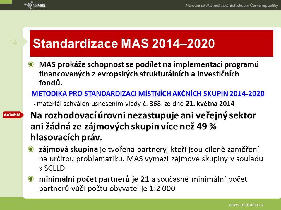 - materiál schválen usnesením vlády č. 368 ze dne 21. května 2014