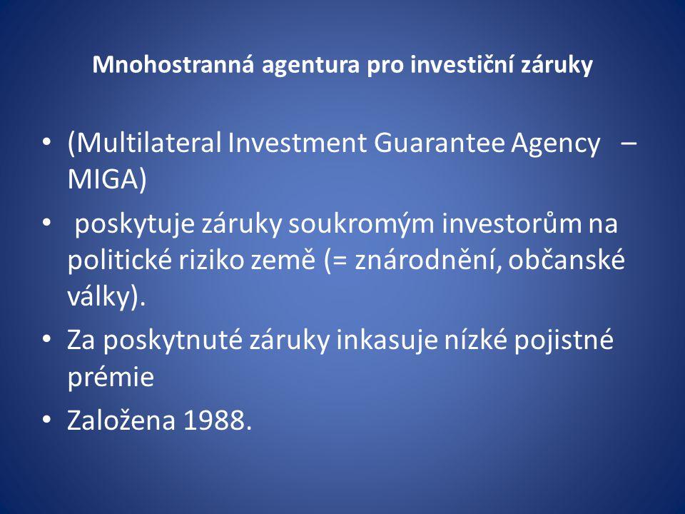 Mnohostranná agentura pro investiční záruky
