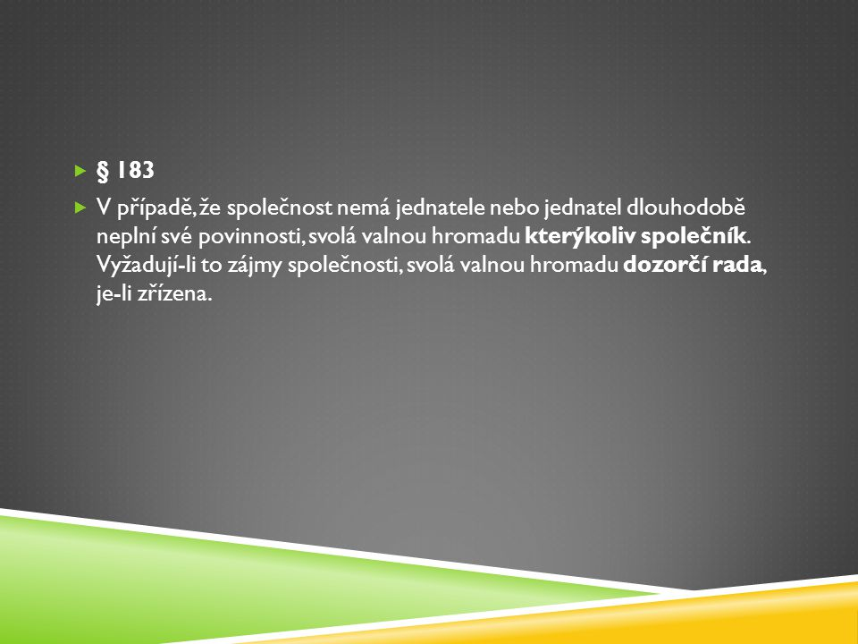 § 183