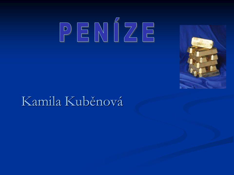 PENÍZE Kamila Kuběnová
