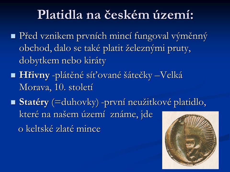 Platidla na českém území: