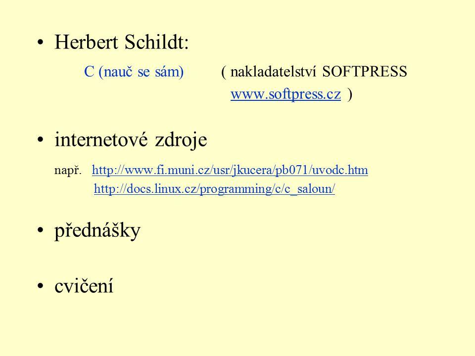 C (nauč se sám) ( nakladatelství SOFTPRESS
