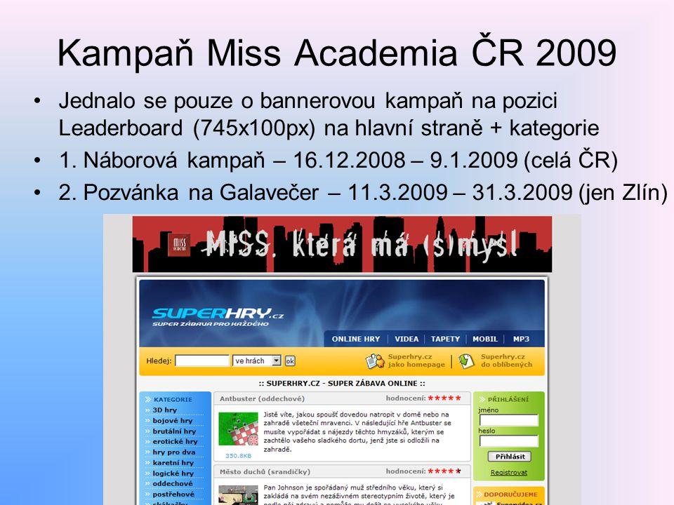 Kampaň Miss Academia ČR 2009