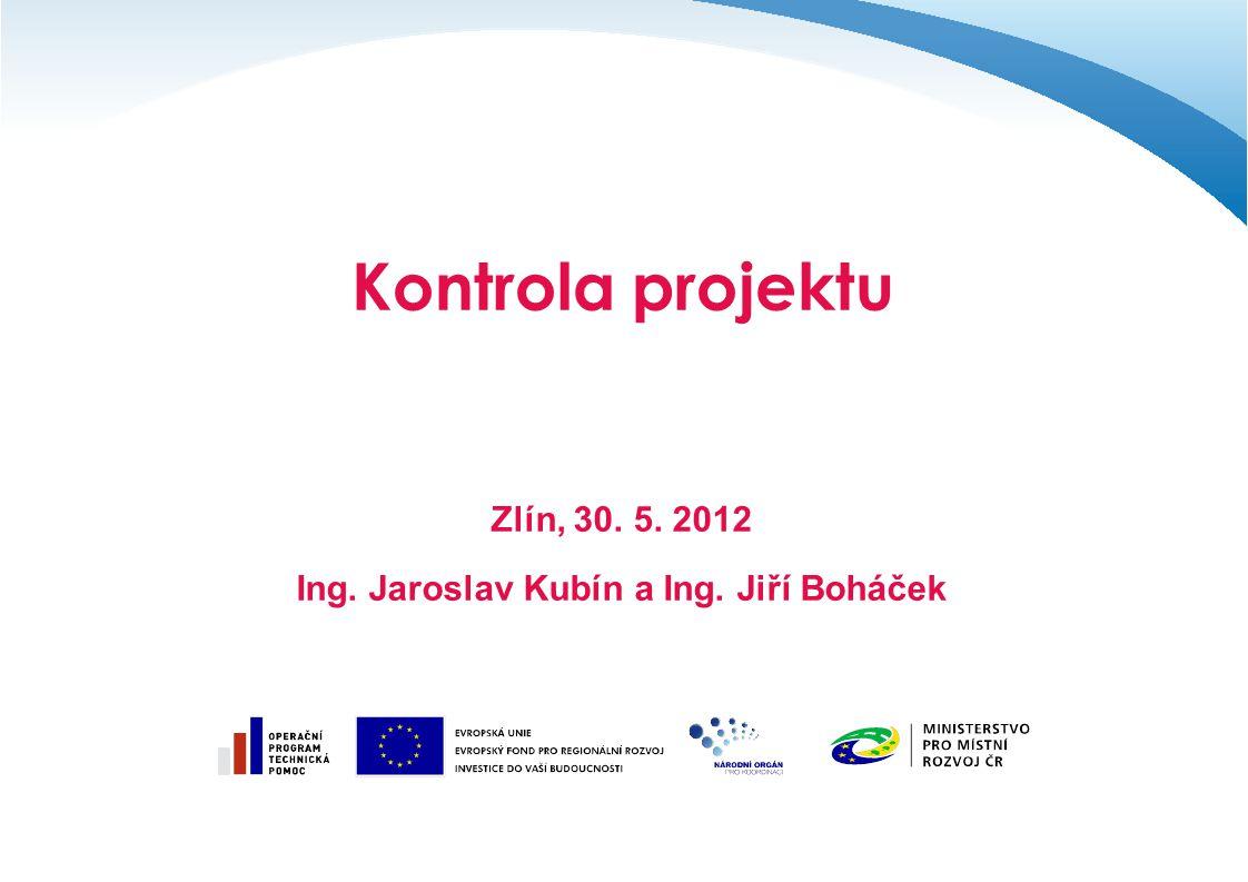 Ing. Jaroslav Kubín a Ing. Jiří Boháček